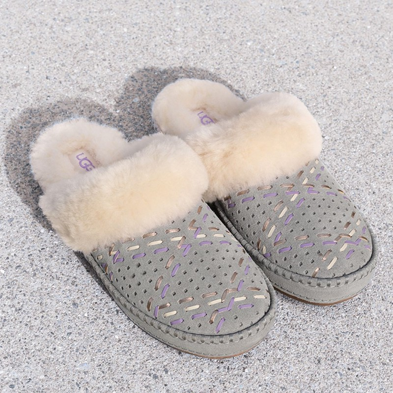 UGG Aira Tehuano Genuine Shearling Slipper