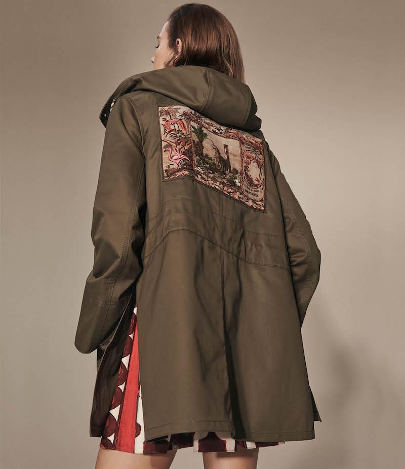 Valentino Patch-Appliquéd Cotton Gabardine Jacket
