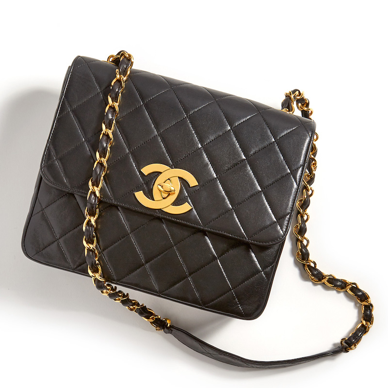 What Goes Around Comes Around Chanel Big CC Square Bag