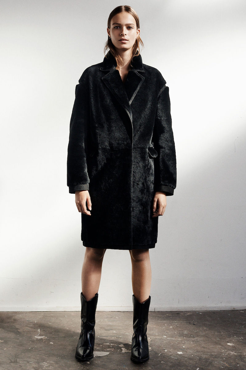 AllSaints Limited Jale Shearling Coat