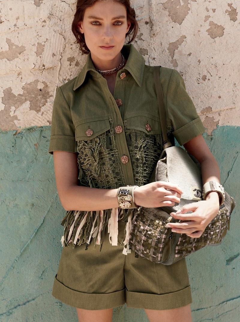 Chanel Cotton Lesage Tweed Jacket