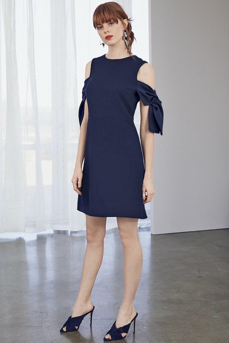 Chelsea28 Cold Shoulder Knit Dress