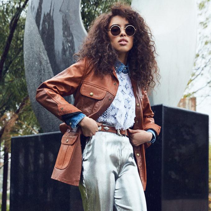 Chloé Nomadic Leather Jacket
