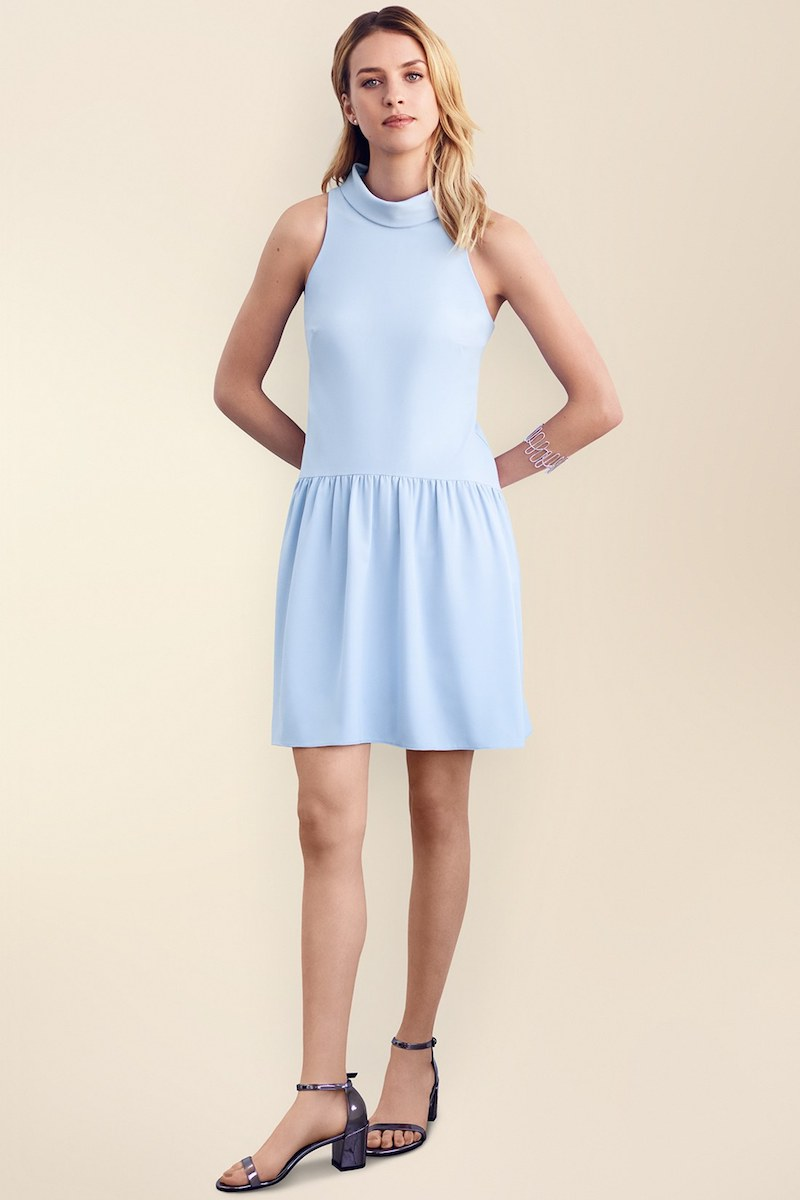 Eliza J Drop Waist Dress