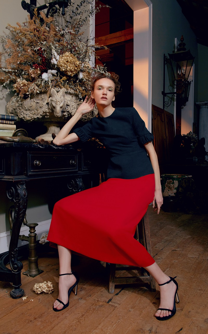 Emilia Wickstead Persey Short Sleeve Top