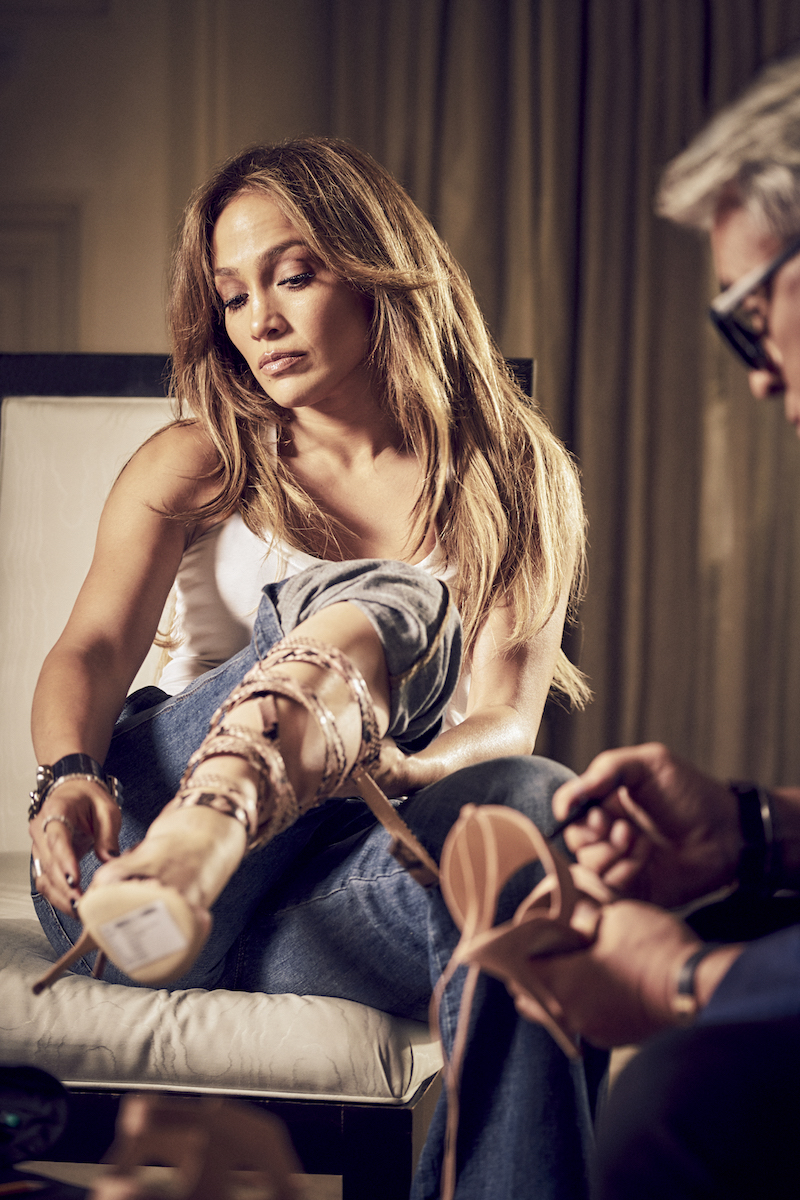 Giuseppe for Jennifer Lopez Capsule Collection