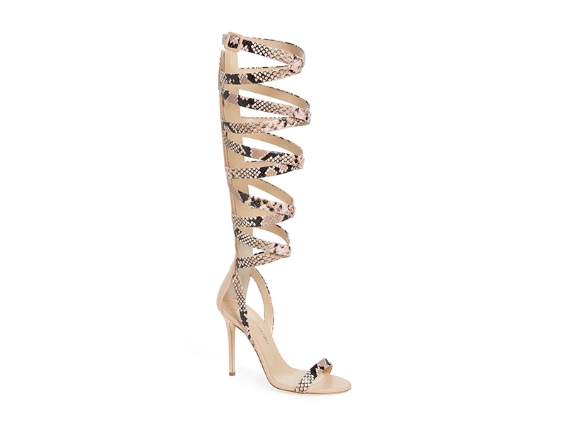 Giuseppe for Jennifer Lopez Emme Knee-High Gladiator Sandal