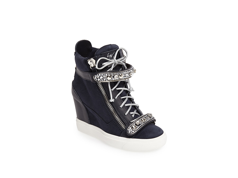 Giuseppe for Jennifer Lopez Tiana Hidden Wedge Sneaker