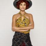 Isabel Marant Etoile Acan Rasta Flower Top