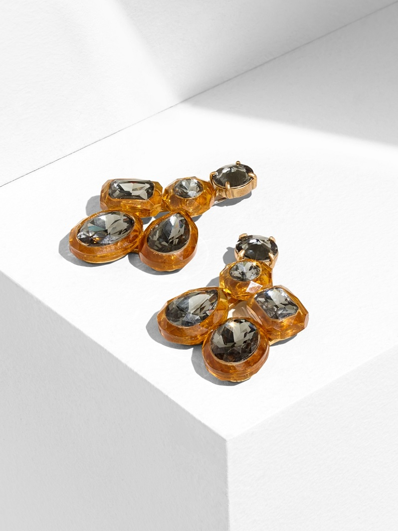 J.Crew Jewel Box Cluster Earrings