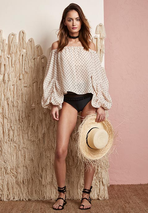 Lovers + Friends x REVOLVE Dahlia Blouse