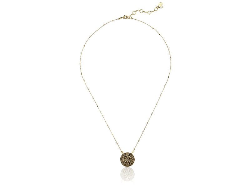 Lucky Brand Carded Gold Pave Necklace