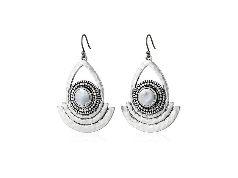 Lucky Brand Pearl Statement Earrings