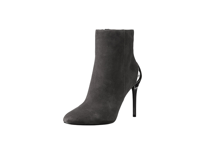 Nine West Yesday Suede Ankle Bootie