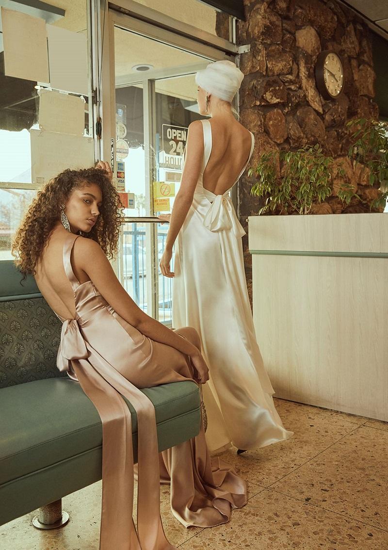 Reformation Eliana Dress in Blush-