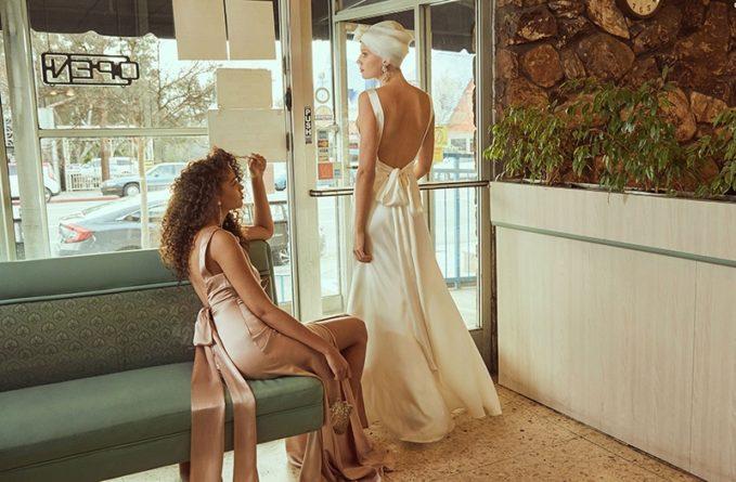 Reformation Eliana Dress in Ivory