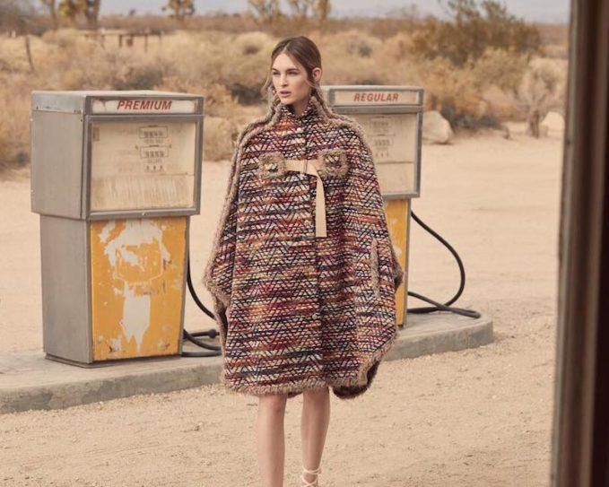 See by Chloé Boho Cape Coat