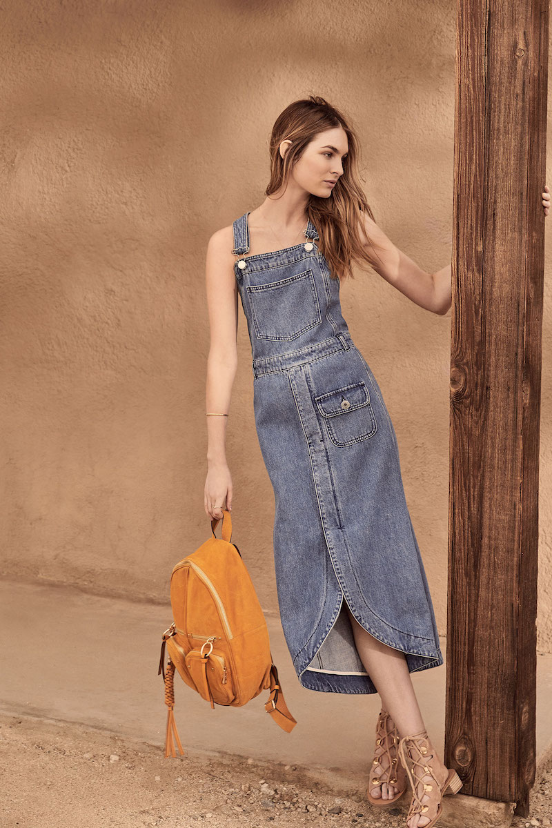 See by Chloé Denim Pocket Dress