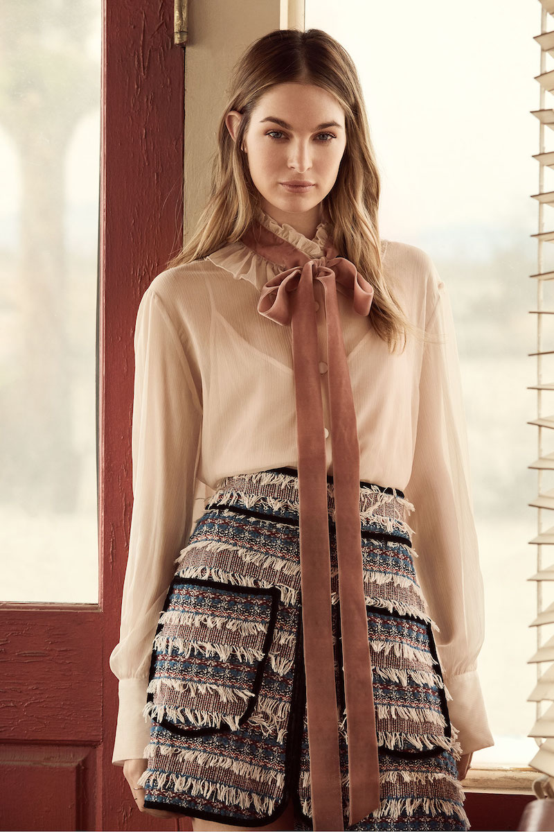 See by Chloé Tie Neck Blouse