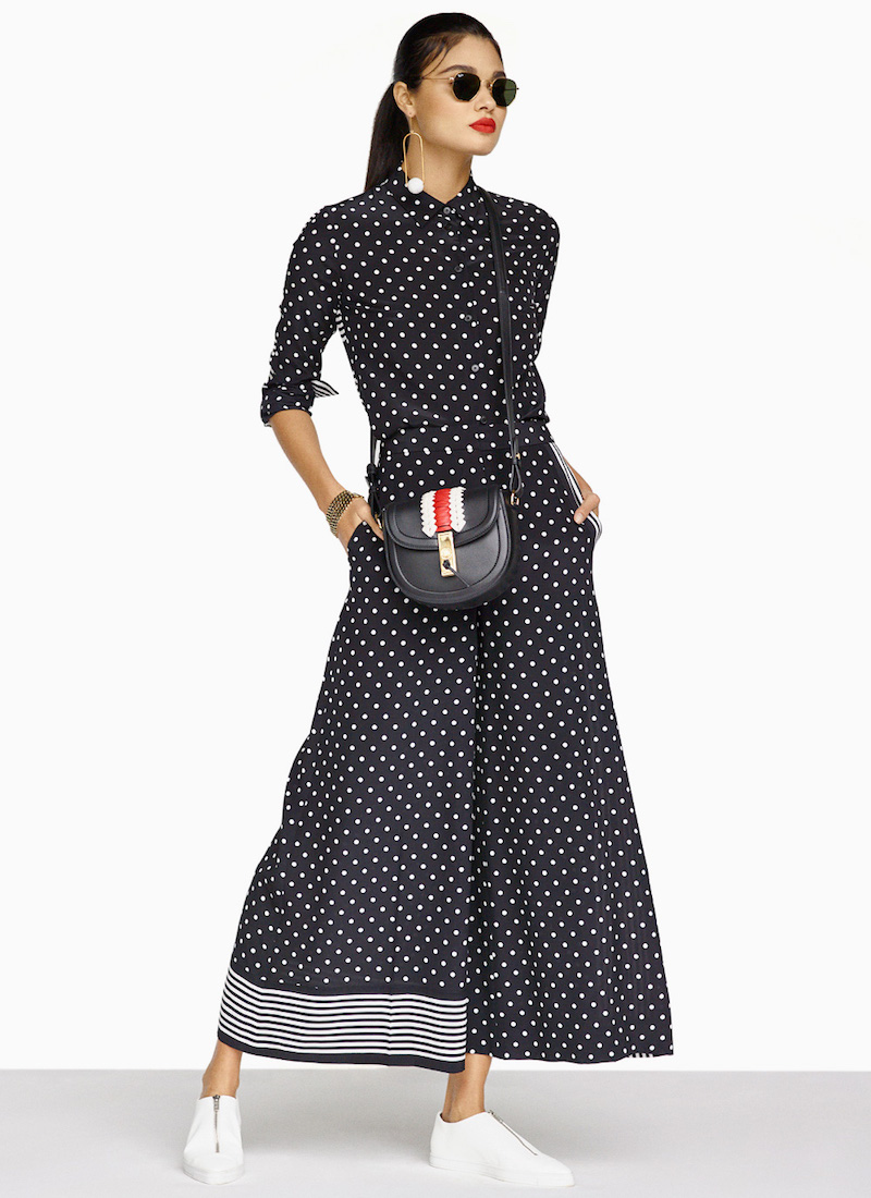 Stella McCartney Silk Polka Dot Blouse