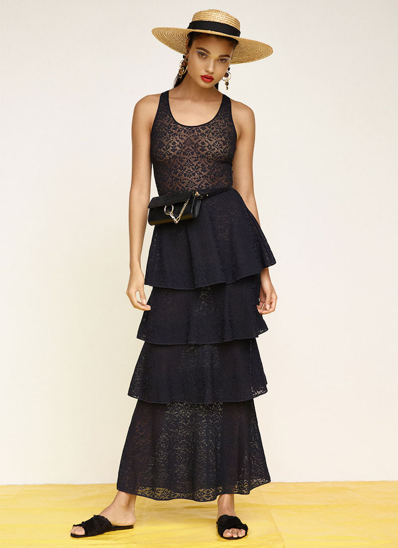 Stella McCartney Tiered Sleeveless Dress