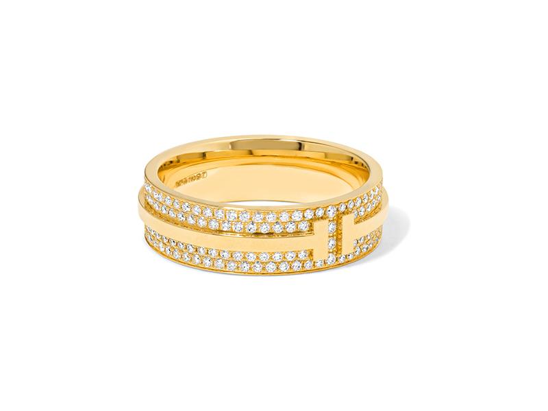 Tiffany & Co. 18-Karat Gold Diamond Ring