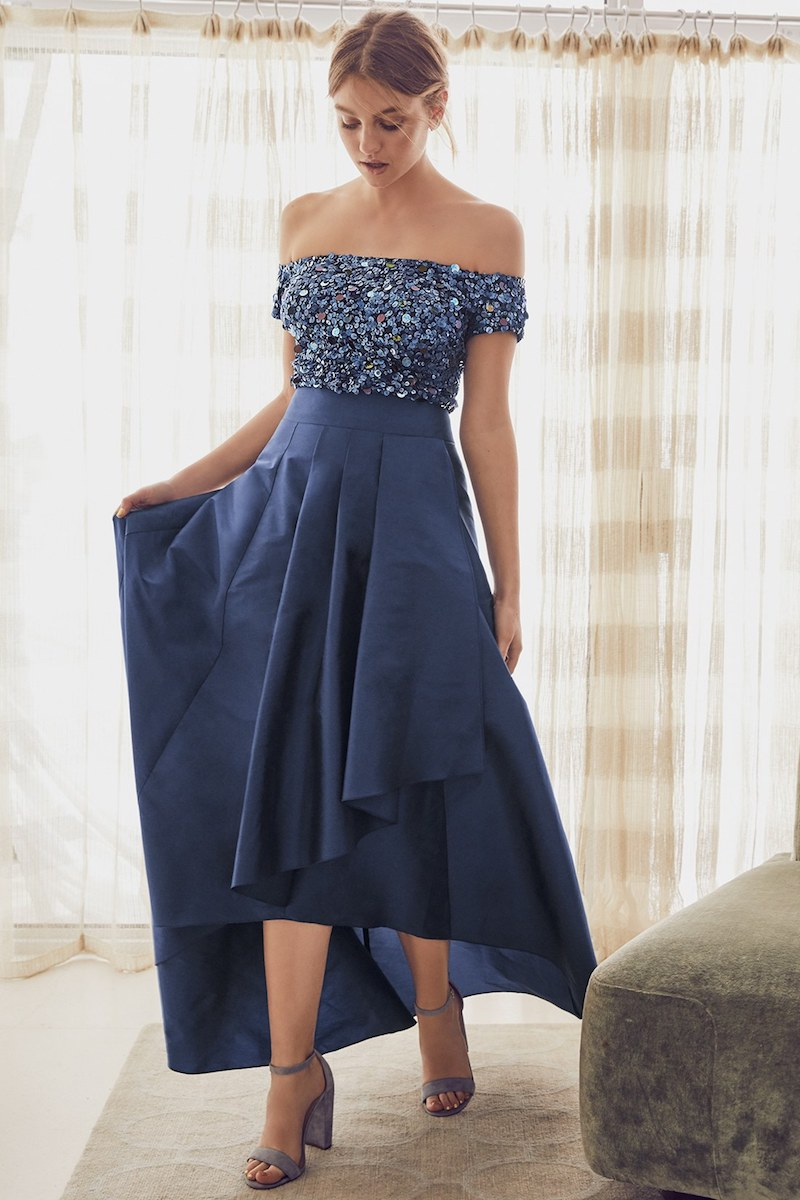 Adrianna Papell Two-Piece Ballgown