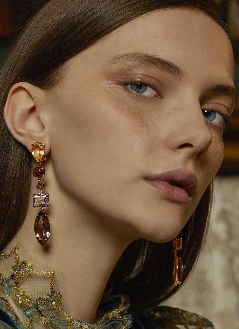 Alasia Anemoni Drop Earrings