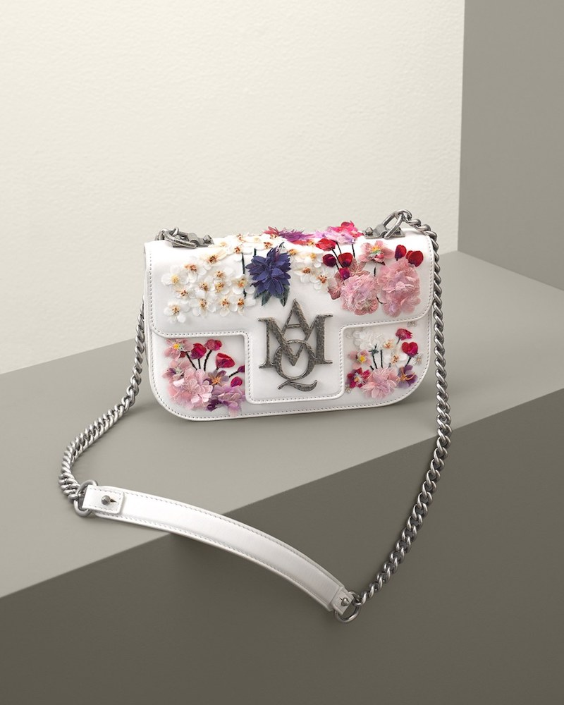 Alexander McQueen Small Insignia Leather Shoulder Bag