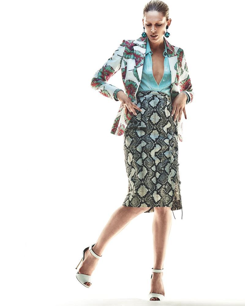 Altuzarra Fenice Floral Classic Blazer