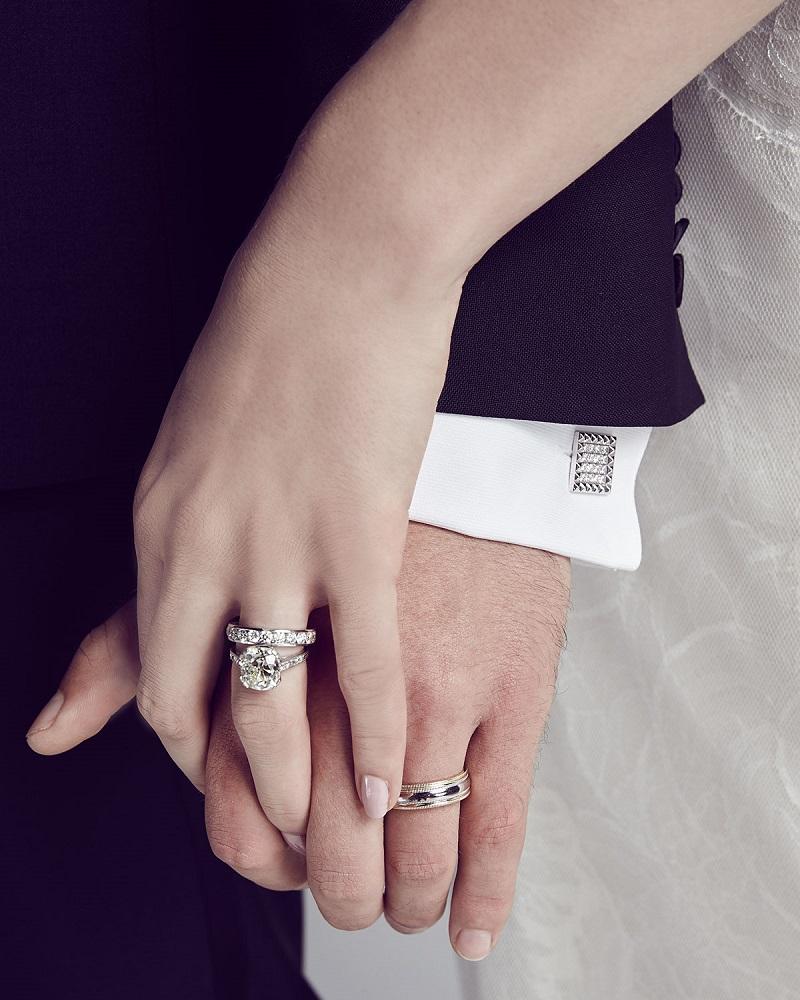 American Jewelery Designs Channel-Set Diamond Eternity Band Ring -
