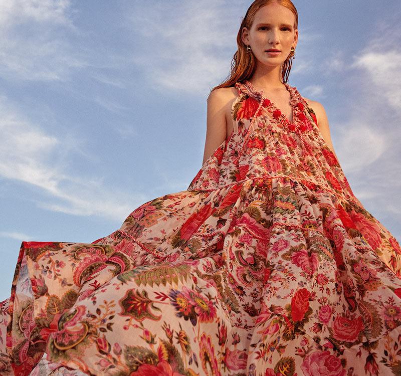Anjuna Clotilde Floral Dress