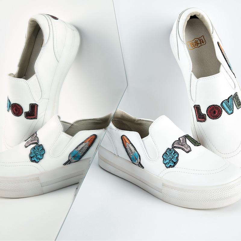 Ash Jess Platform Slip On Sneakers