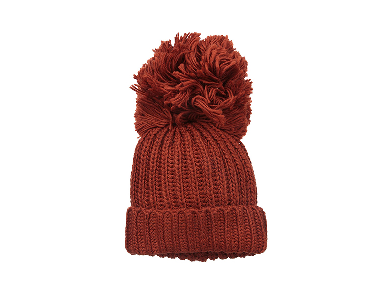 BCBGMAXAZRIA Monster Pom Hat