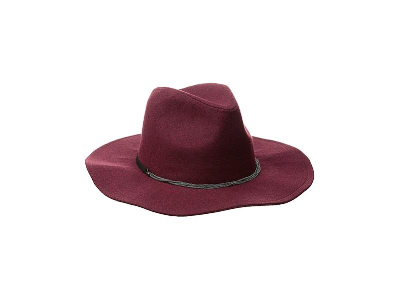 BCBGeneration Delicate Chain Flannel Panama Hat