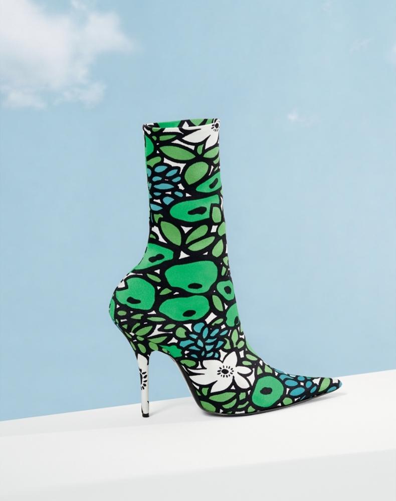 Balenciaga Pointy Toe Mid Boot