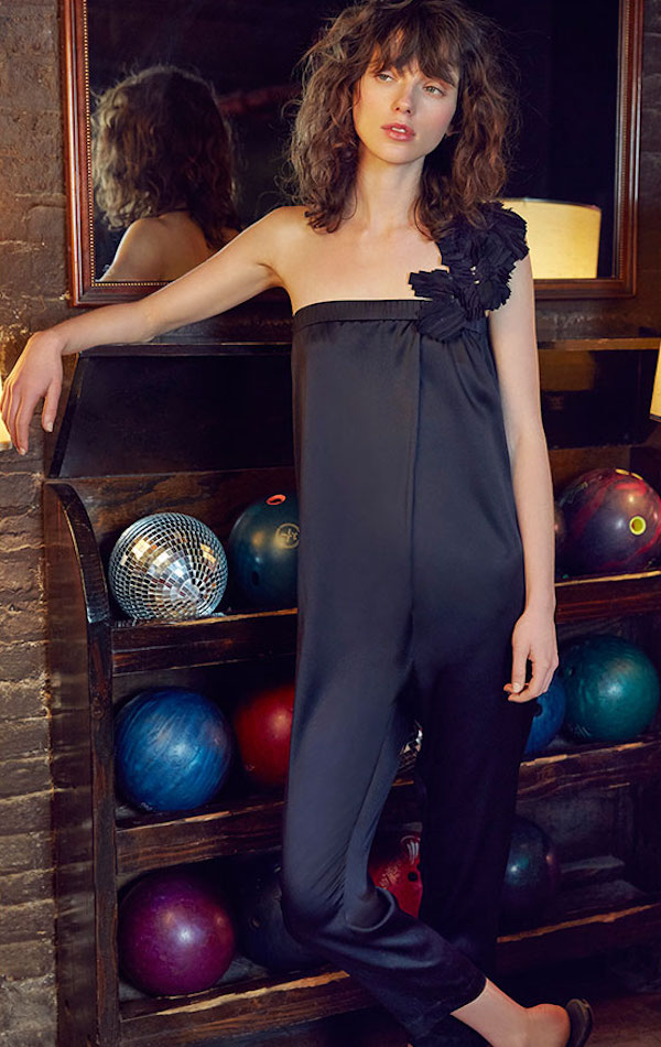Brunello Cucinelli Satin Jumpsuit