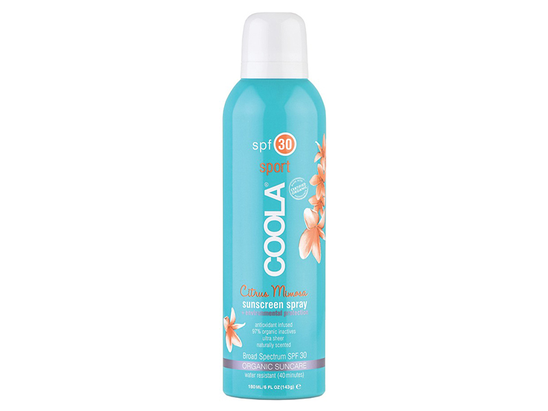 COOLA Suncare Sport Sunscreen Spray Broad Spectrum SPF 30