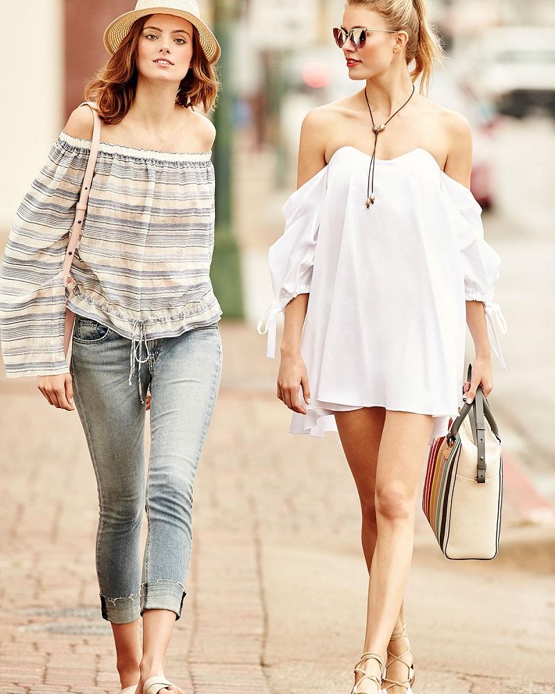 Caroline Constas Gabriella Off-the-Shoulder Bustier Shift Dress