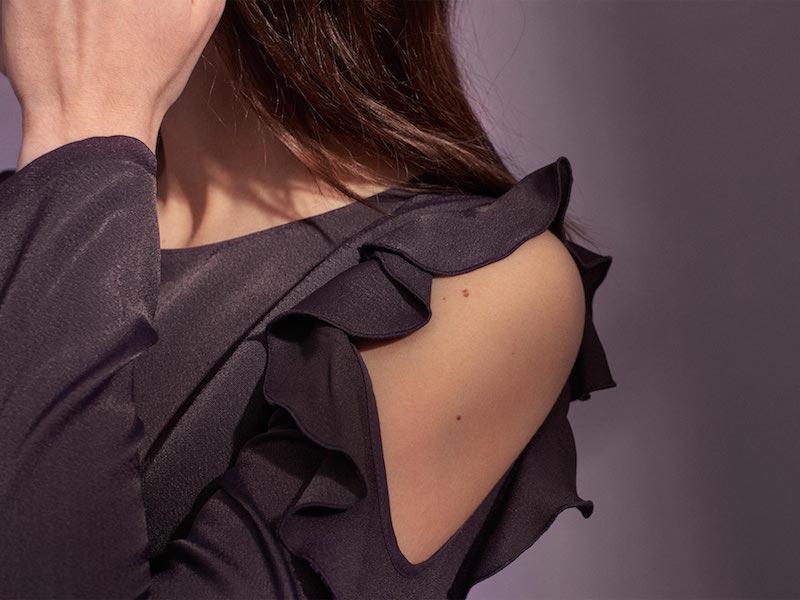 Club Monaco Teodora Cold-Shoulder Dress
