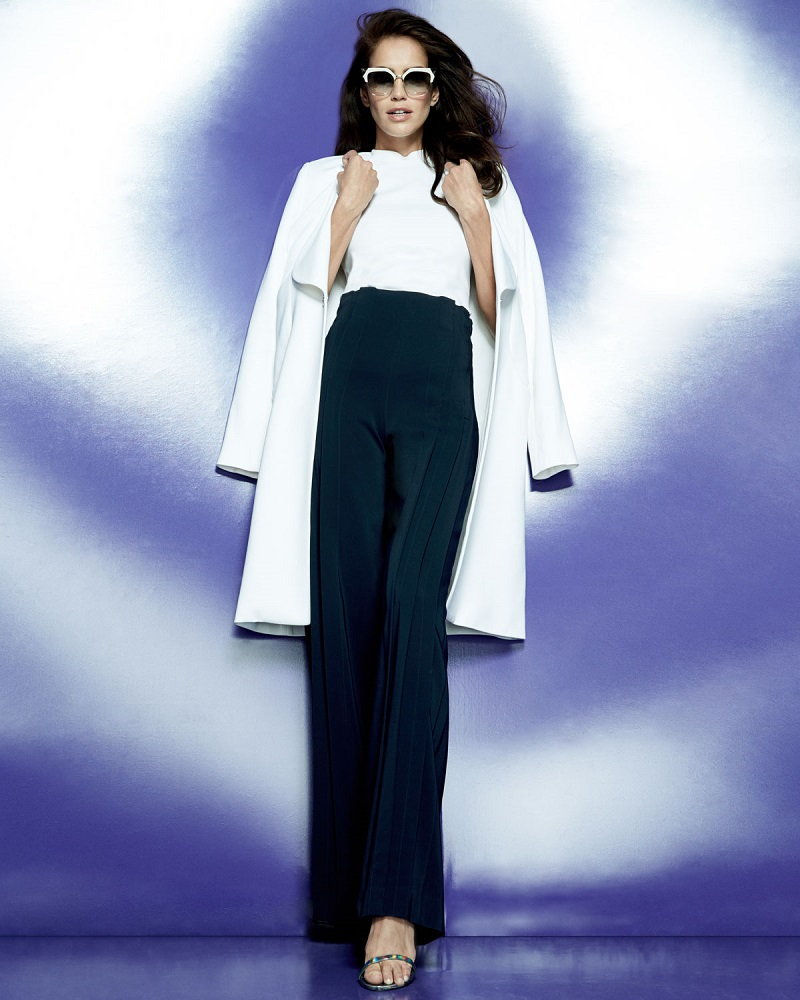 Cushnie Et Ochs Shawl-Collar Long Coat