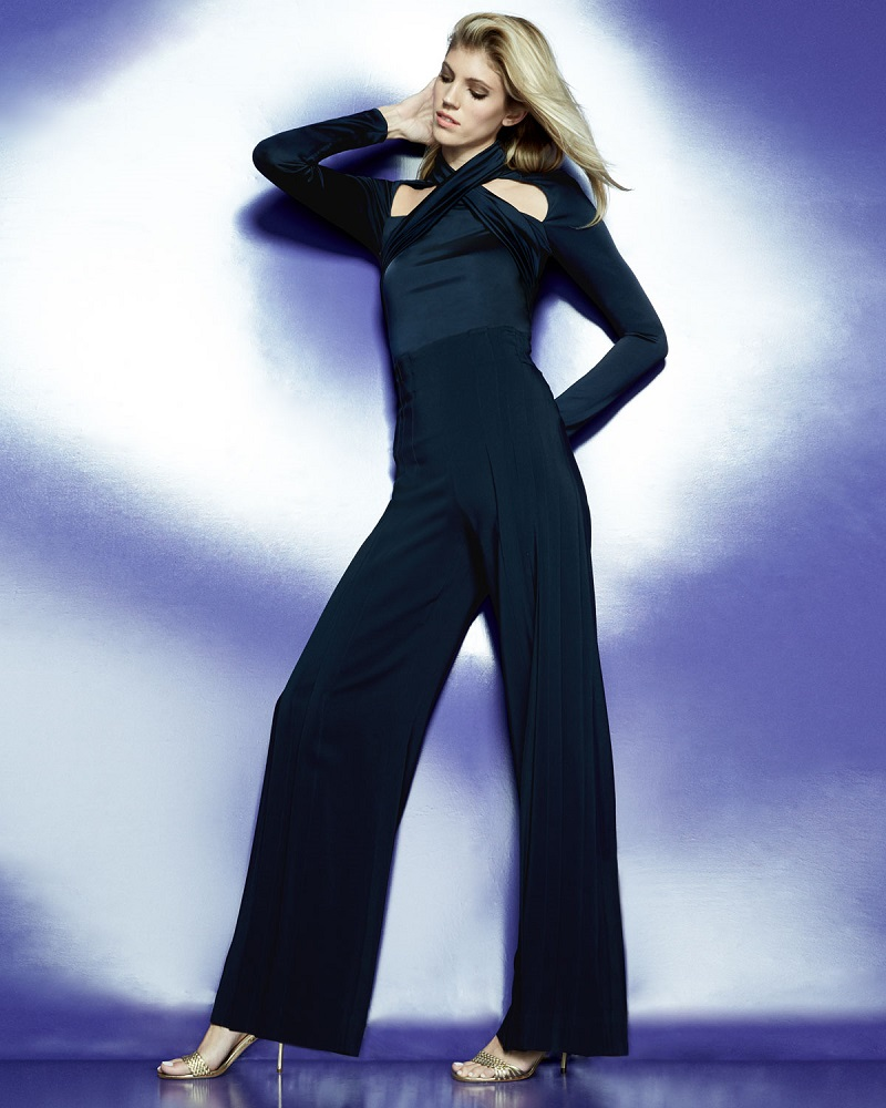 Cushnie Et Ochs Twisted-Front Long-Sleeve To