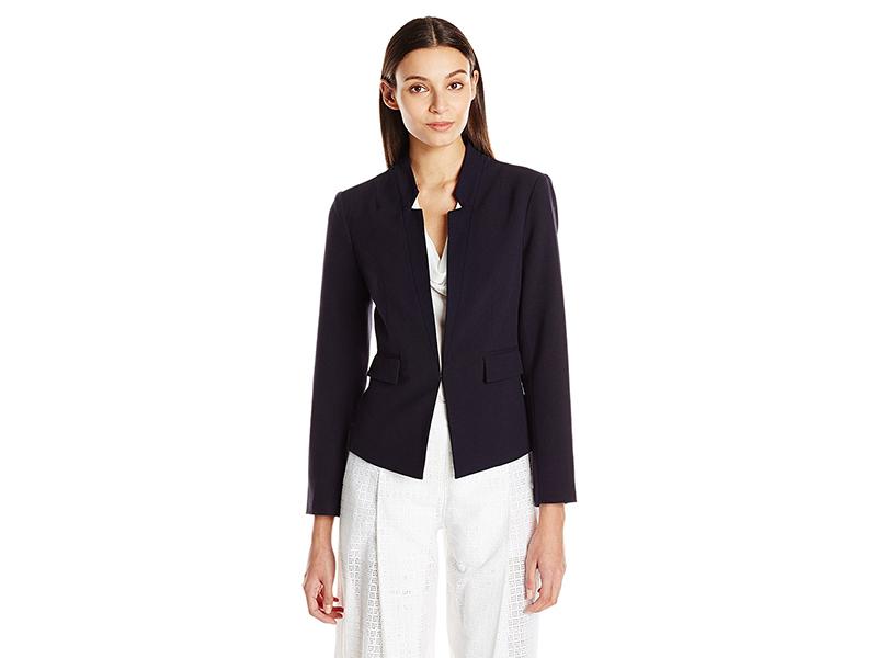 Ellen Tracy Inverted Rever Jacket