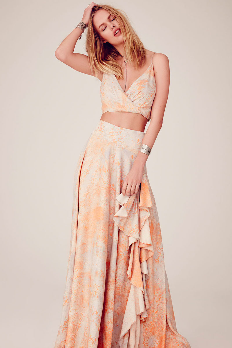 Free People Gardenia Maxi Set