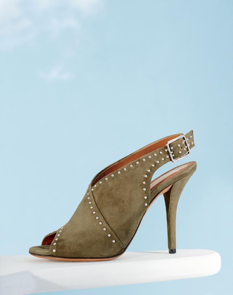 Givenchy Elegant Knot Platform Sandal