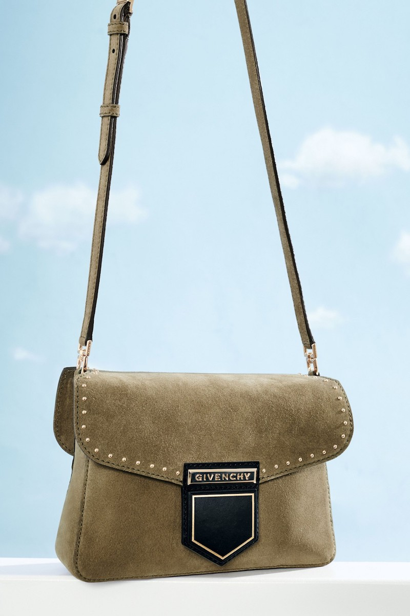 Givenchy Small Nobile Leather Crossbody Bag