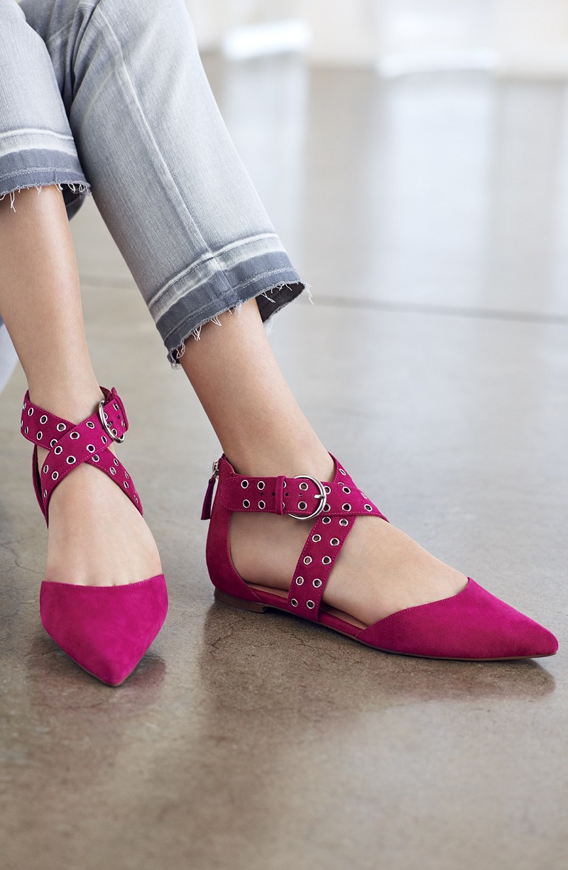 Halogen Molly Pointy Toe Flat