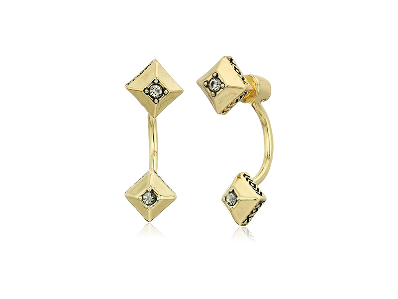 House of Harlow 1960 The Lyra Gold Earring Jacket