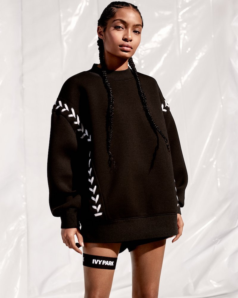 IVY PARK Laced Sweatshirt