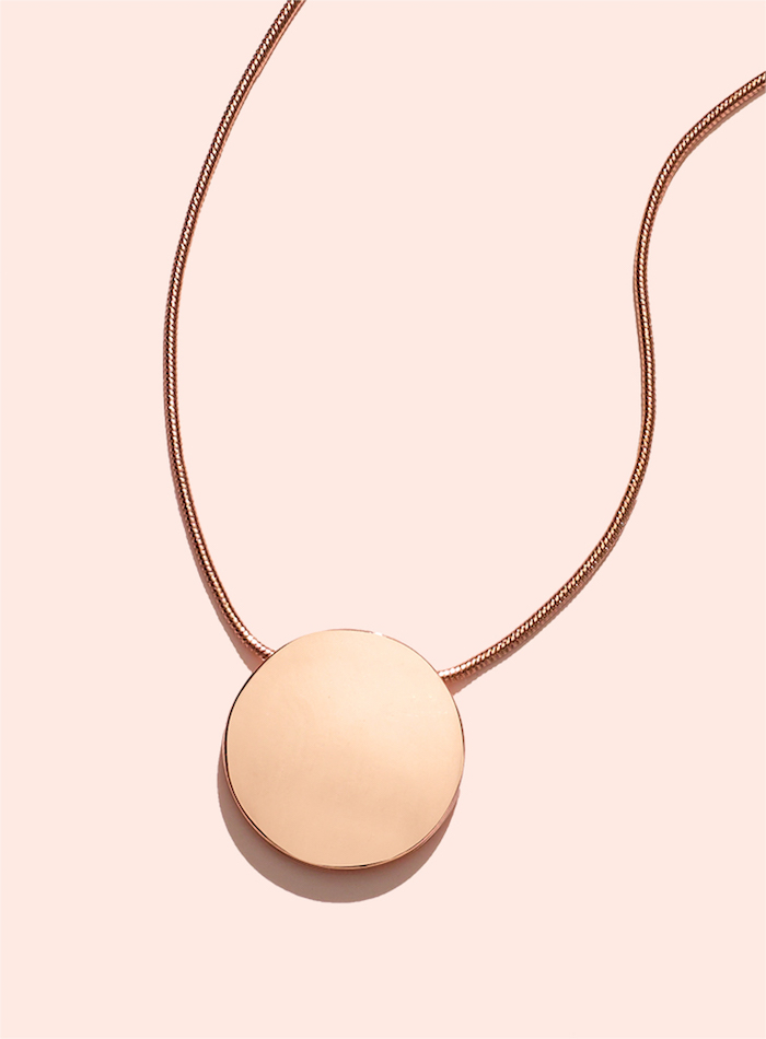 """Kenneth Cole New York """"Modern Essentials"""" Circle Pendant Necklace"""